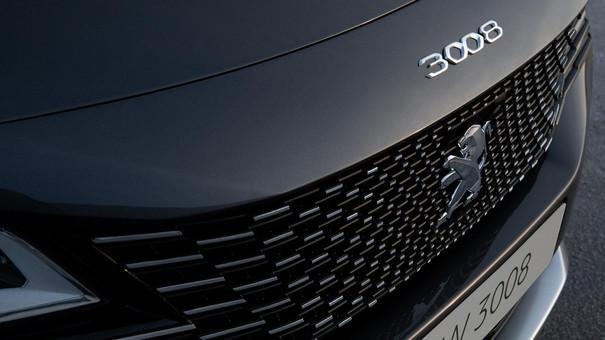 Nýr Peugeot 3008 framendi