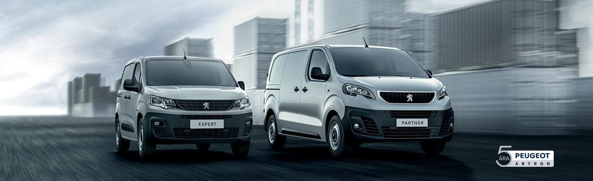 Peugeot partner expert atvinnubilar