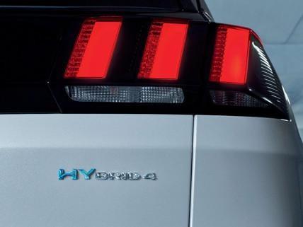 Peugeot PHEV hybrid merki