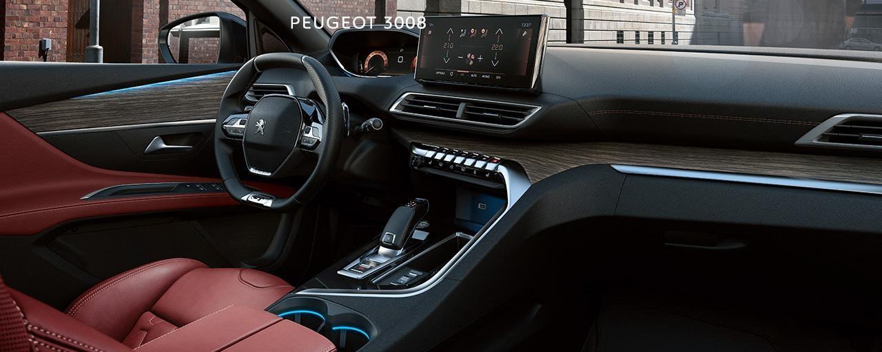Nýr Peugeot 3008 innra rými
