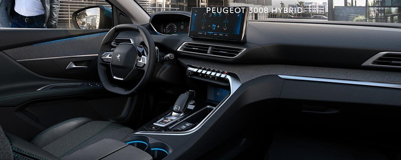 Peugeot 3008 Phev innra rými
