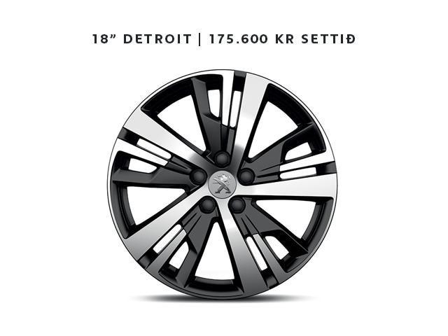 Peugeot detroit álfelga