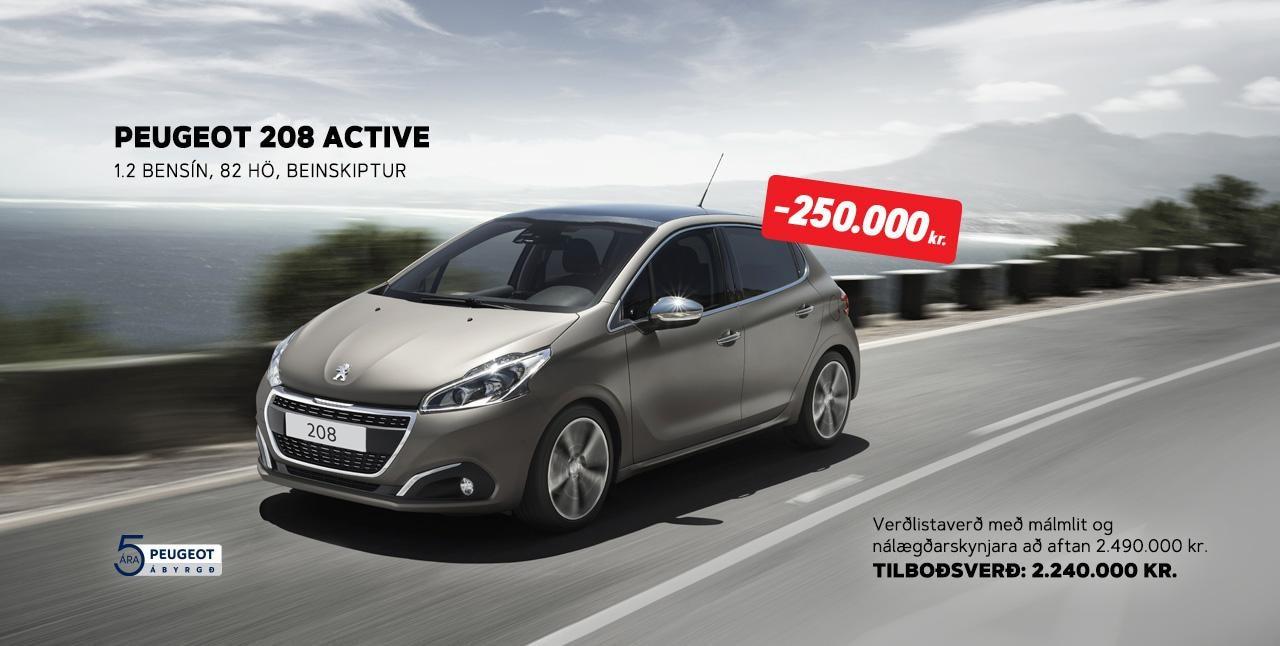 Peugeot.208.tilbod
