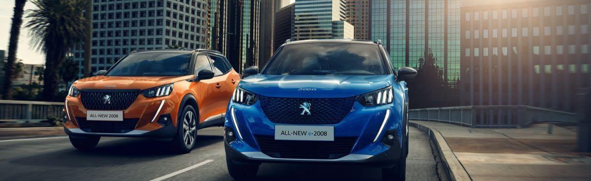 Peugeot 2008 hönnun