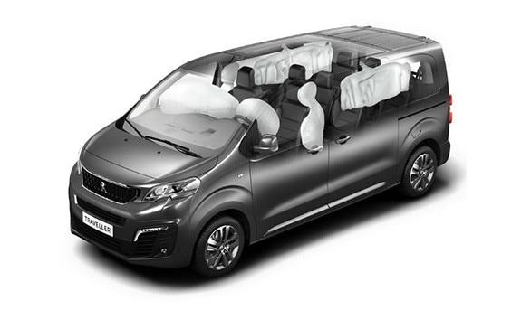 Loftpúðar Peugeot traveller