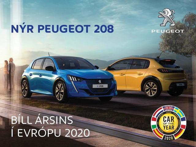 Peugeot 208 mobile