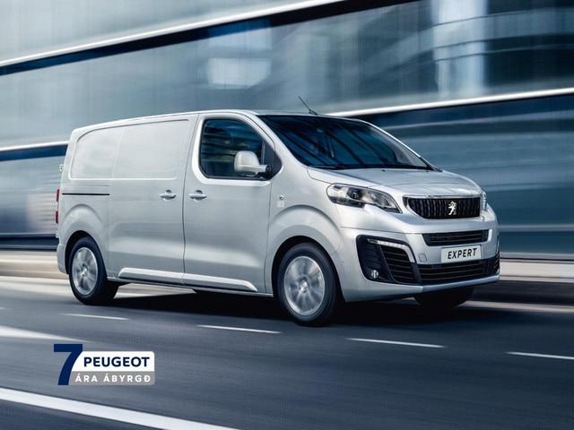 Peugeot Expert sendibíll 7 ára ábyrgð mobile