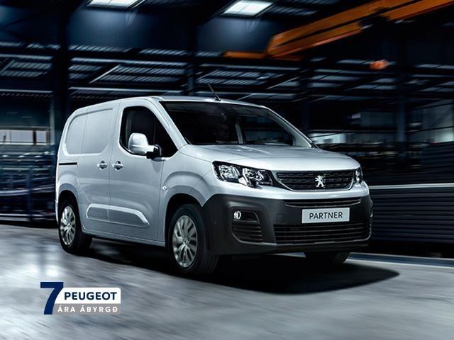 Peugeot Partner sendibíll 7 ára ábyrgð mobile