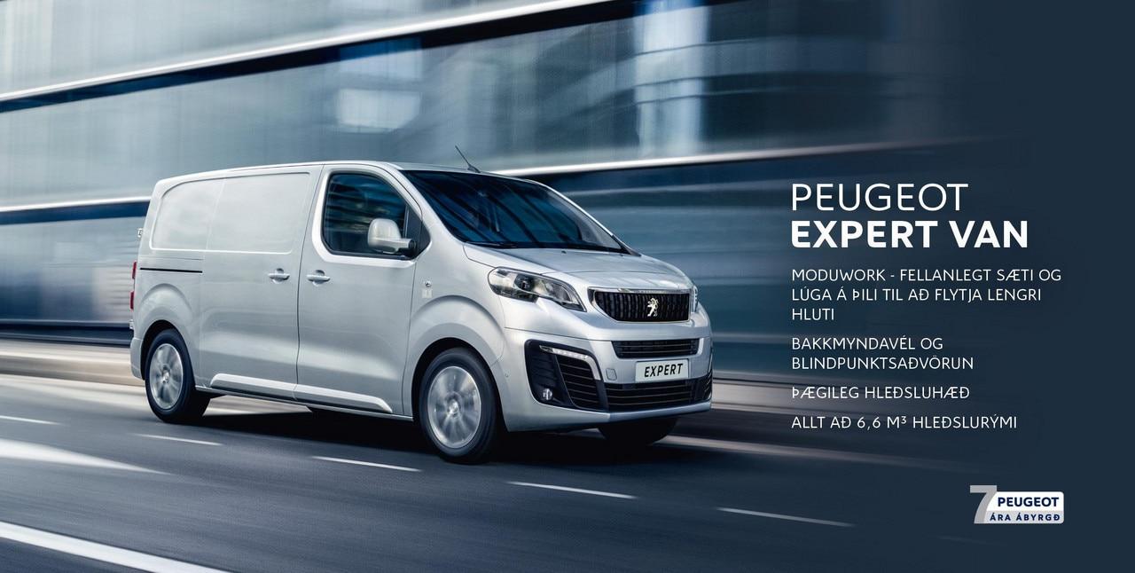Peugeot Expert forsíða