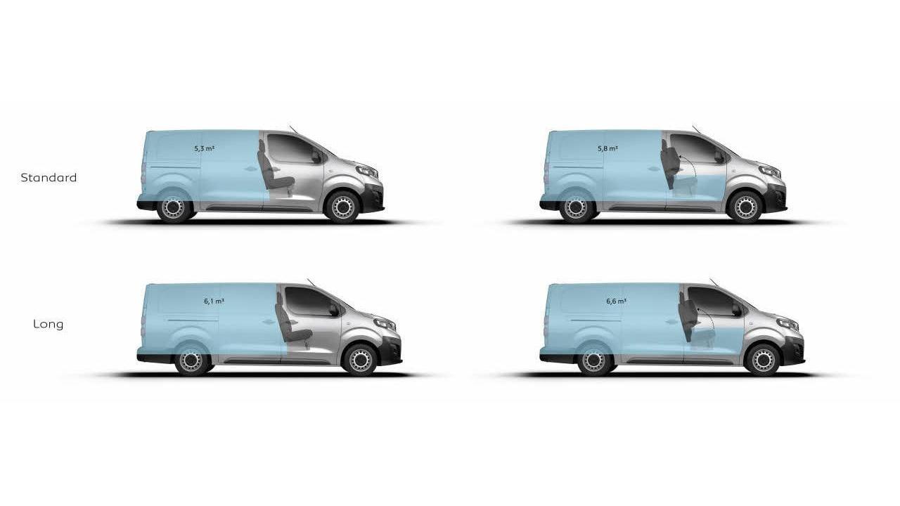 Peugeot e-Expert 100% rafbíll rummál
