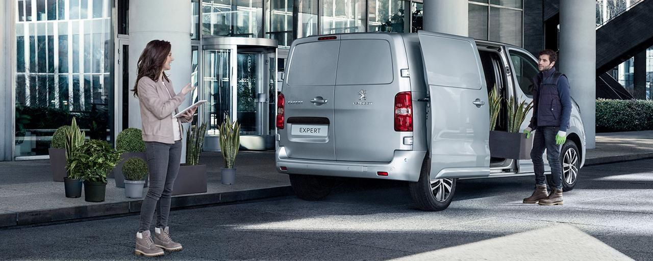 Peugeot expert sendibíll blomasali