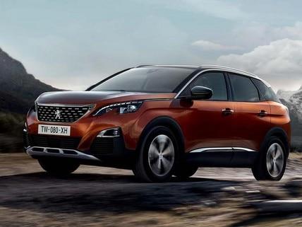 Peugeot 3008 SUV öryggi