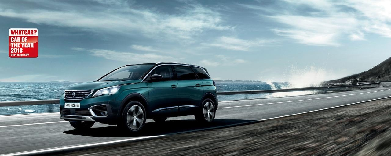 Peugeot 5008 - WhatCar best large SUV