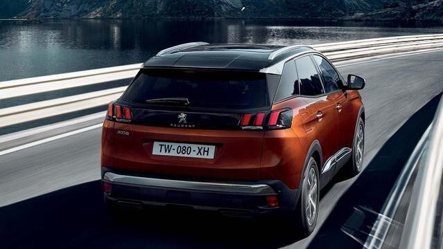 Peugeot 3008 akstur