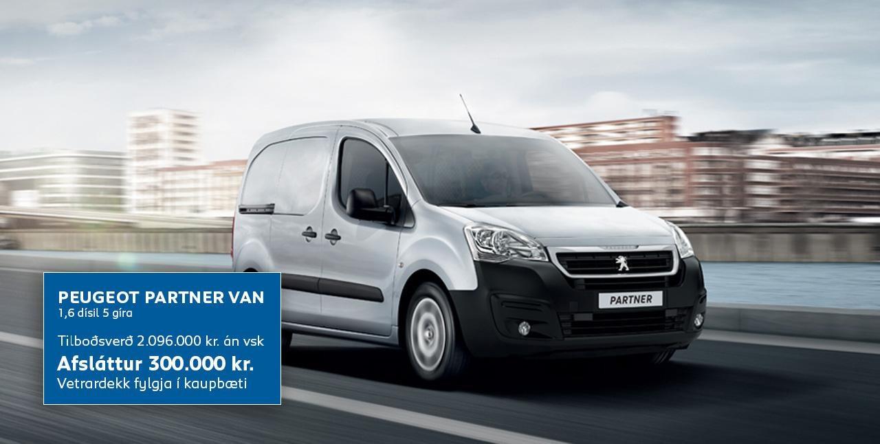 Peugeot Partner_tilboð