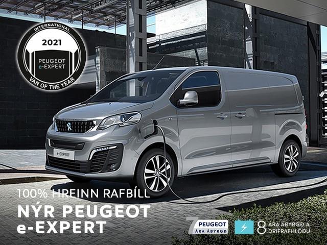 Peugeot e-Expert sendibíll ársins 2021 mobile