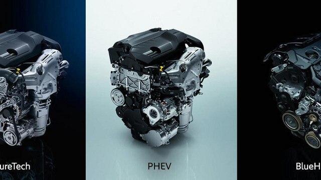 Peugeot 508 vélar, bensín, dísil, hybrid