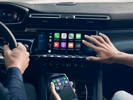 Peugeot 508 station apple car play