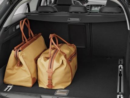 Peugeot 308 station skott stærð