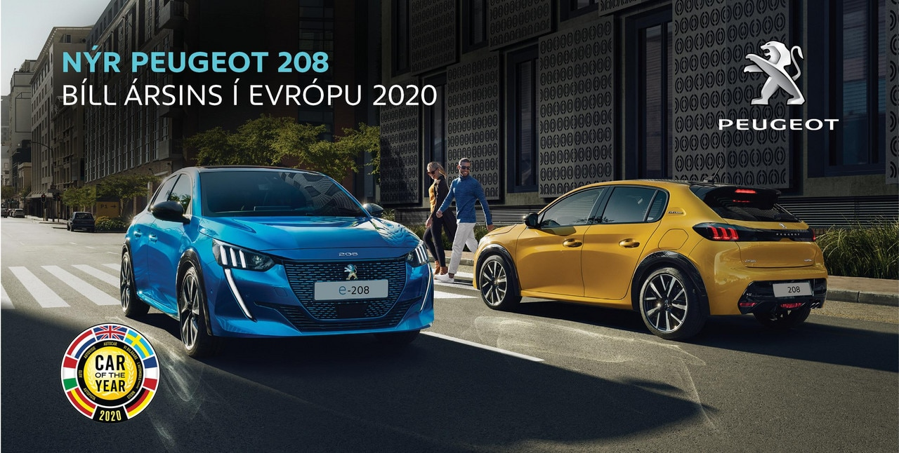 Peugeot 208 e-208 Car of the year