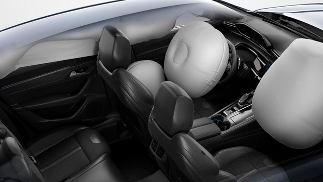 Peugeot 508 öryggi