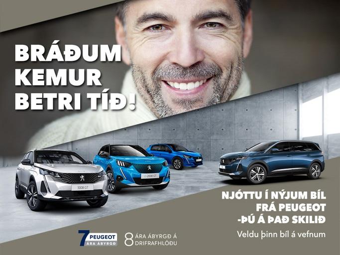 Peugeot bráðum kemur betri tíð mobile