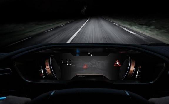 Peugeot 508 næturmyndavél